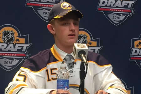 Jack Eichel is the highest drafted NCAA player since 2007.